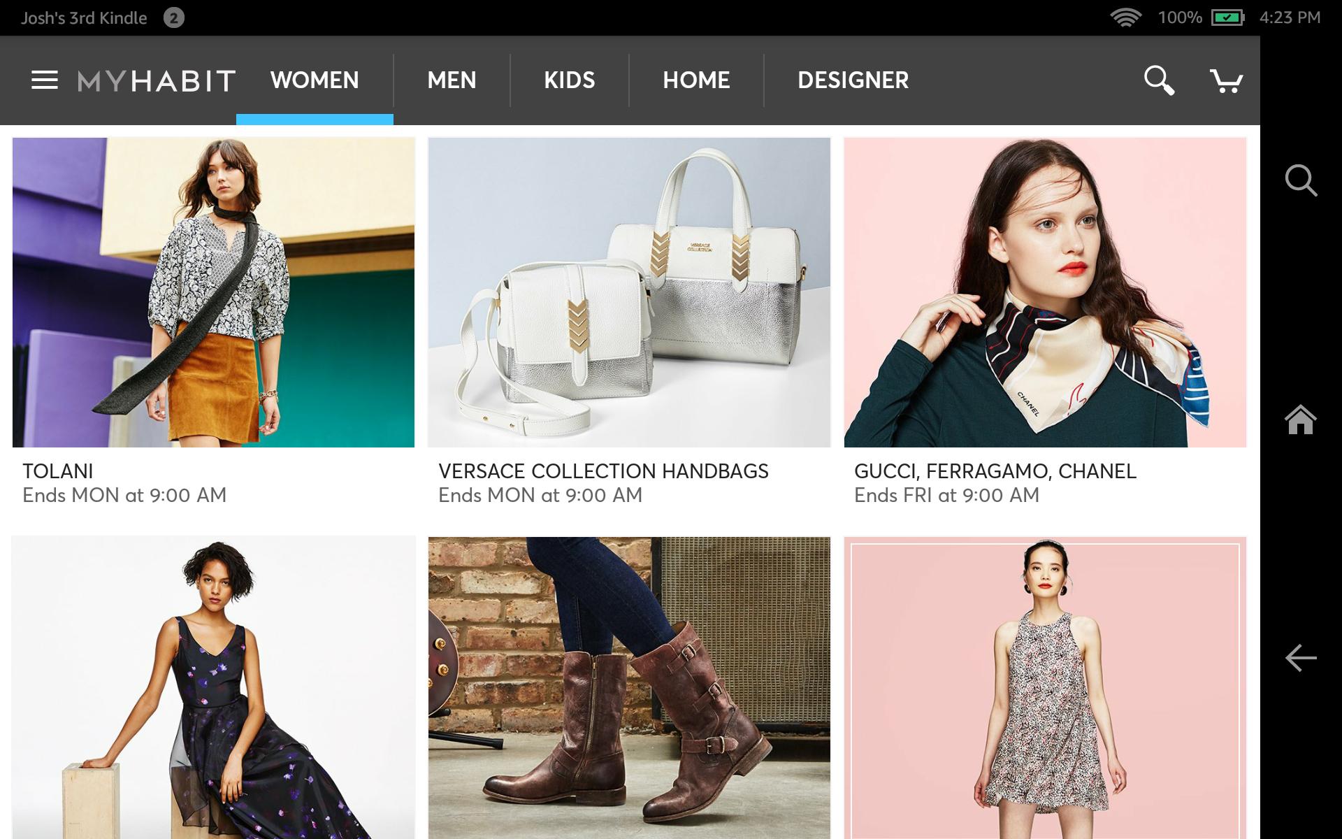 MyHabit – Designer Brands screenshot #6