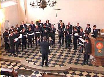 Photo: A-Cappella-Konzert zum 20jährigen Jubiläum des Heinrich-Schütz-Chors Aachen   Annakirche, Aachen  / 27.10.2001