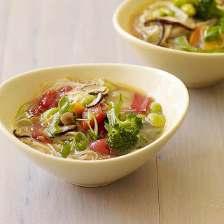 Asian Noodle-Vegetable Soup.