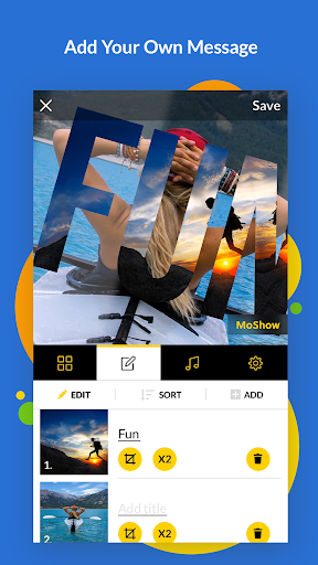 Image of MoShow - Slideshow Maker, Photo & Video Editor 2.0.1.1 2