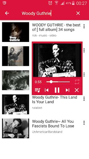 Floating YouTube Music Player 1.0 screenshots 1