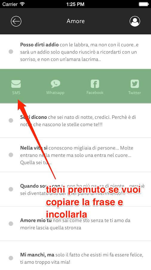 Eccezionale Sms Pronti e Frasi d'Amore - App Android su Google Play YR33