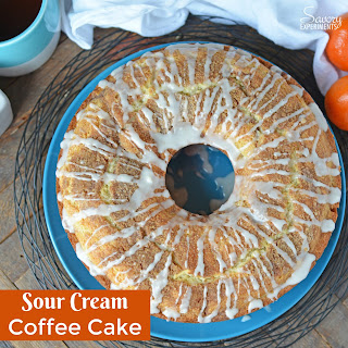 Sour Cream Coffee Cake.
