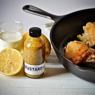 Sautéed Chicken with Mustard Cream Sauce