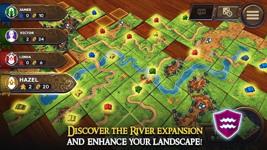 Carcassonne: Official Board Game -Tiles & Tactics- screenshot thumbnail