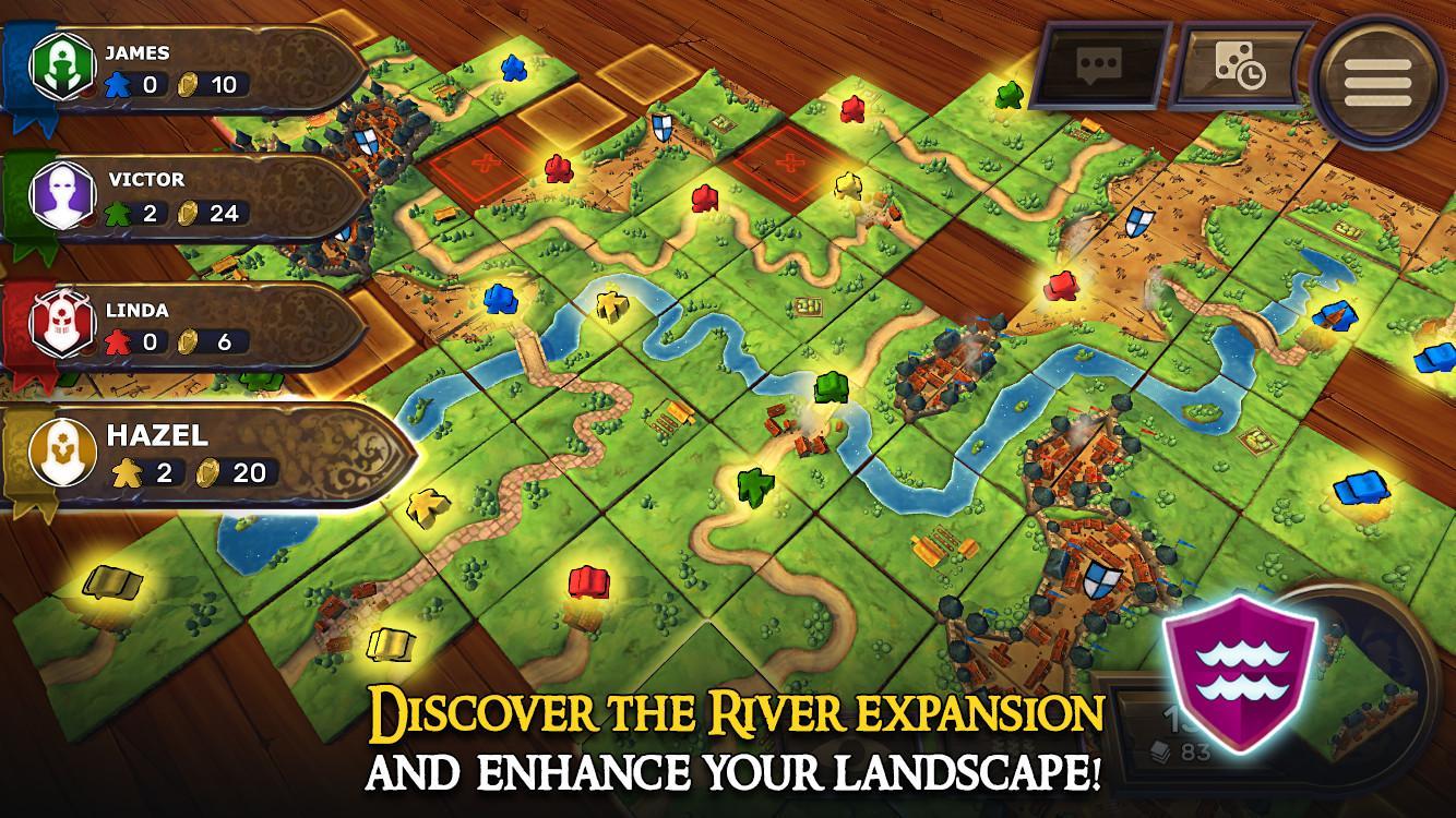 Carcassonne: Official Board Game -Tiles & Tactics screenshot #4