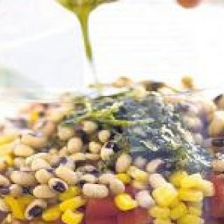 Black-Eye Pea And Barley Salad