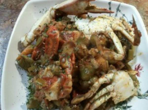 Crabs And Okra