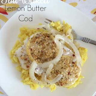 Foil-Baked Lemon Butter Cod.