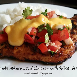MESQUITE MARINATED CHICKEN WITH PICO DE GALLO