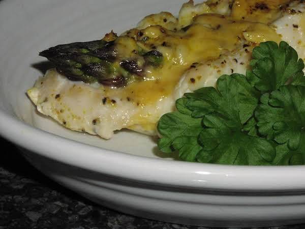 Asparagus And Cheddar Stuffed Chicken Breasts Recipe