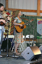 Photo: Nora Jane Struthers with PJ George