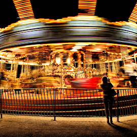 The speed by Alexandre Rios - City,  Street & Park  Night ( photooftheday, picoftheday, bestoftheday, uk, united kingdom, games, lights, speed, photography, night shot, colorful, night photography )