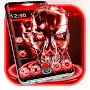 Red Tech Skull Theme