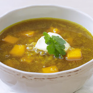 Curried Lentil and Squash Soup Recipe