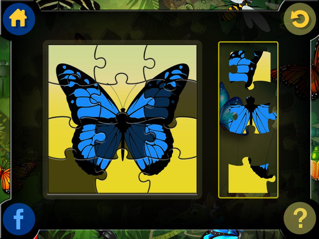 Jigsaw Puzzle for Insects- screenshot