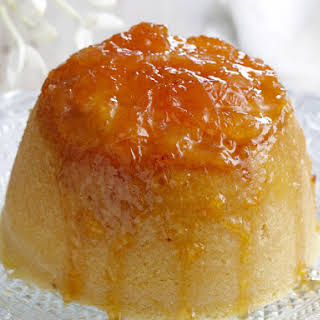 Citrus and Coconut Steamed Pudding.