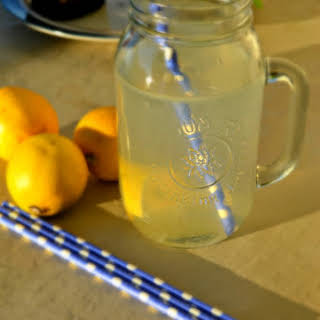 Morning Lemon Detox Water.