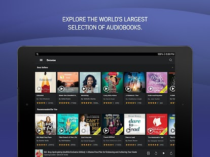 Audible - Audiolibros de Amazon Screenshot