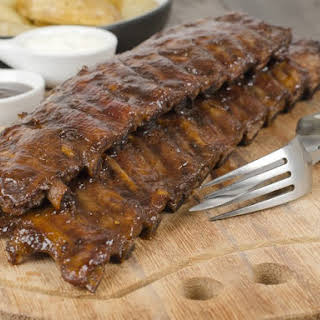 Baby Back Ribs From the Oven.