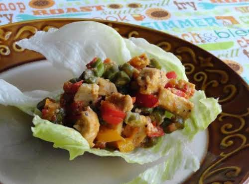 "Asian Lettuce Wraps ""I made this for supper last night and even..."