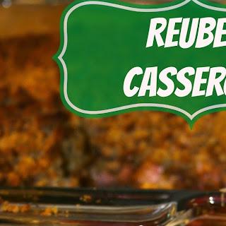 Lucky Layered Reuben Casserole.