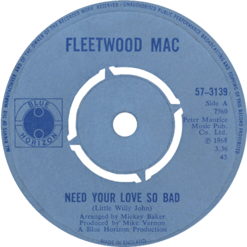 Single: Need Your Love So Bad