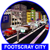 Footscray City map for MCPE creation city