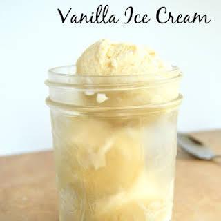 Old Fashioned Vanilla Ice Cream.
