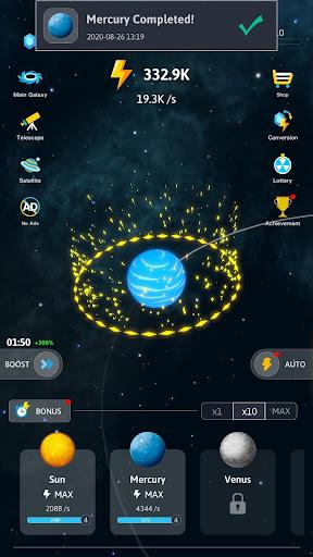Idle Galaxy Creator apkmr screenshots 10