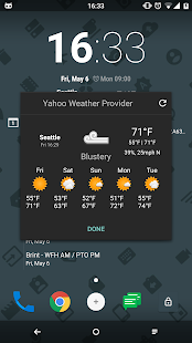 Yahoo CM Weather Provider- screenshot thumbnail