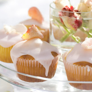 Rose Flavored Cupcakes Recipes.