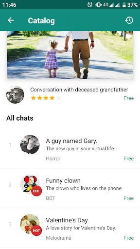 Love Story Chat u2014 virtual story messenger filehippodl screenshot 4