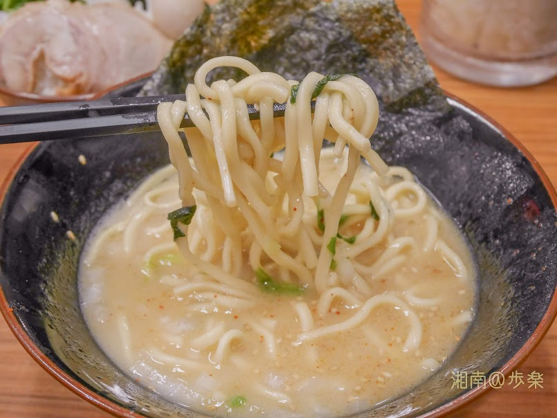 塩(4周年祭@500)短めの中太麺
