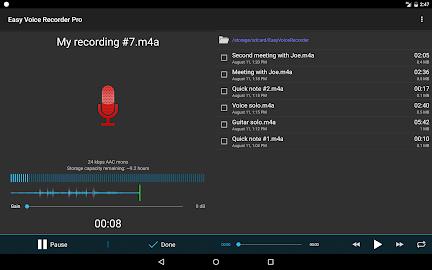 Easy Voice Recorder Pro Screenshot 6