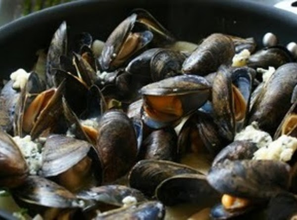 Mussels Le Bleu! Recipe