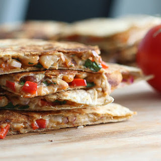 Taco-Spiced White Bean Quesadillas