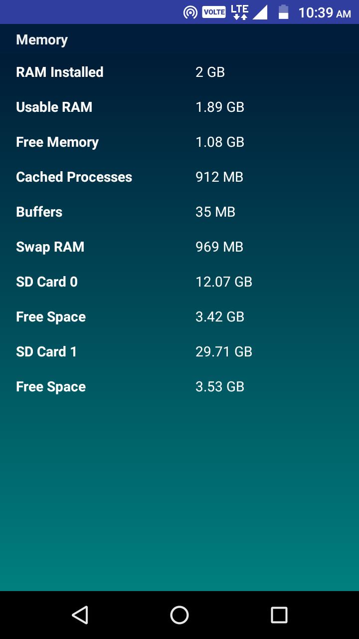 CPU Identifier Screenshot 5