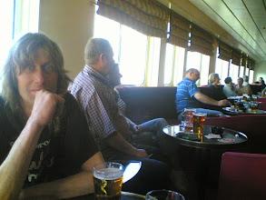 Photo: Fons op de ferry (Hull-Zeebrugge) 2006