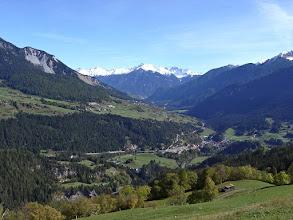 Photo: Stierva - im Tal unten Tiefencastel