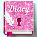 Glitter Lock Diary icon