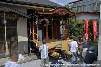 Photo: 【平成23年(2011) 宵々宮】  例年通り、山車の蔵出しから宵々宮がスタート。