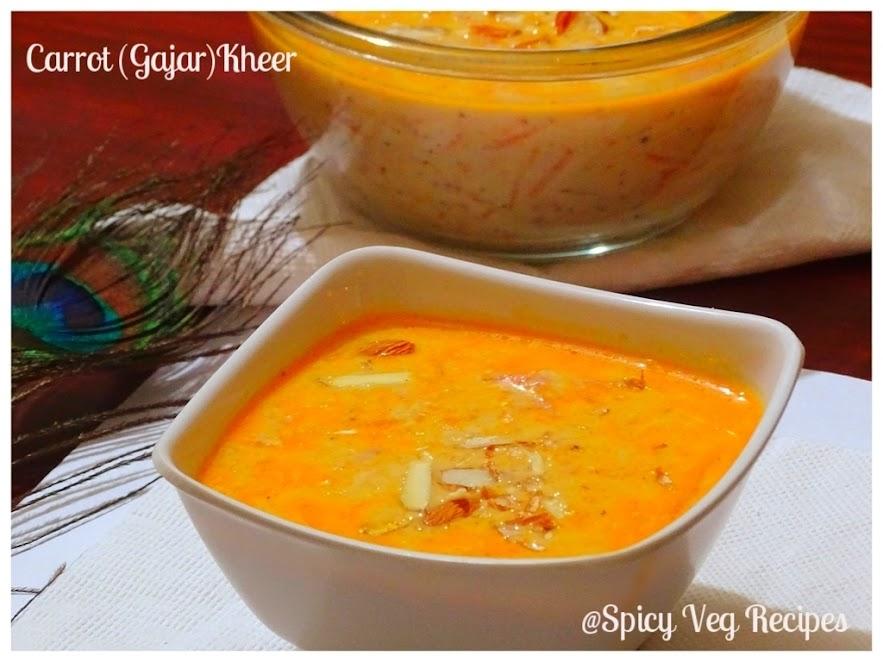 gajar Ki Kheer | How to make Carrot (gajar) Kheer | Carrot Kheer Recipe