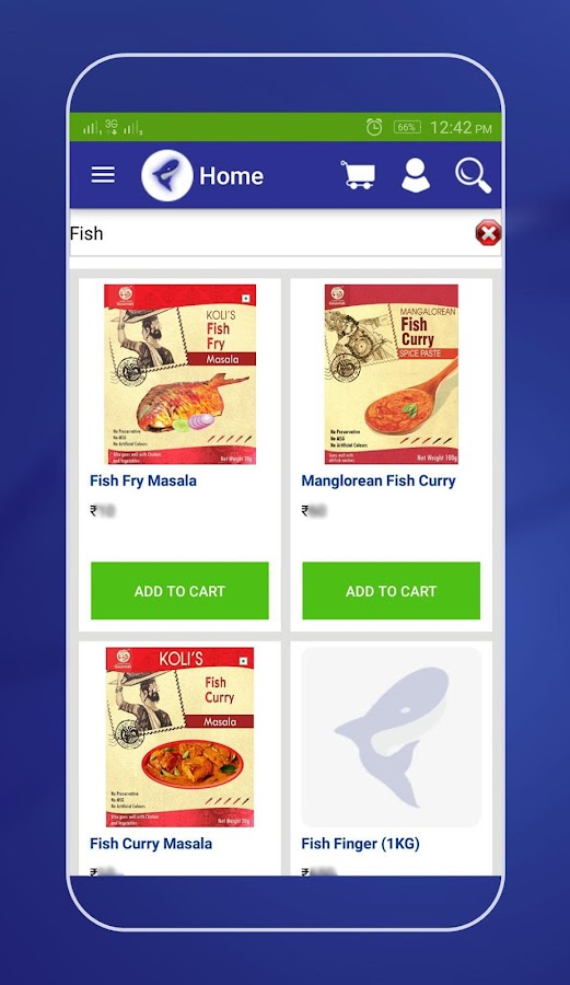 Fish bazaar online fish store android apps on google play for Online fishing store