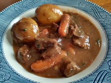 Slow Cooker Beef Burguignon