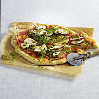 Chicken and Pesto Pizza
