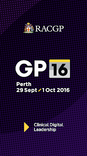 GP16 RACGP Conference- screenshot thumbnail
