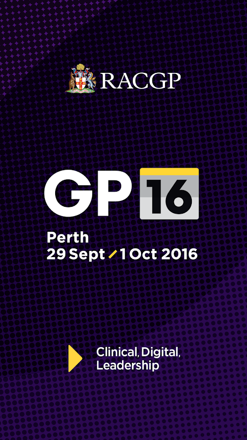 GP16 RACGP Conference- screenshot