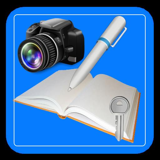 P Notepad,  notes + photo