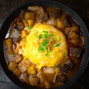 Masaman Curry with Rice & Scrambled Egg